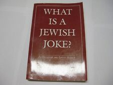 What Is a Jewish Joke?: An Excursion into Jewish Humor
