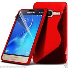 Fundas Para Samsung Galaxy J5 color principal rojo para teléfonos móviles y PDAs
