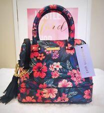 MADDEN GIRL Dome Crossbody Tropical Floral Hibiscus Print Handbag Multi MG-3664