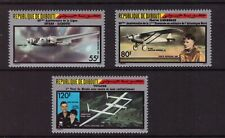Djibouti MNH 1987 Planes/Aviation set mint stamps