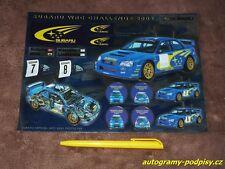 Sticker/Aufkleber - 2003 SUBARU Impreza WRC set A5+