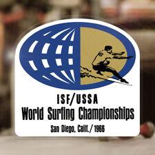 World Surfing Championship 1966 San Diego Autocollant Sticker Autocollante Hawaii