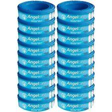 Angelcare Lot de 18 recharges pour Poubelle à Couches