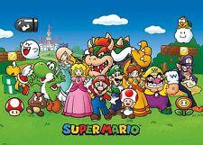 Super Mario (animated) De Pared Gigante Poster 140cm X 100cm