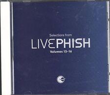PHISH CD Selections Live Vols 13-16 Elektra 8 song sample promo grateful DEAD