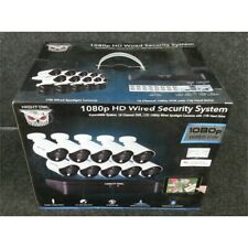 Night Owl 190322 16 Channel Wired DVR Security System 1TB With 10 Cameras 1080p*