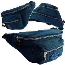 Bauchtasche Gürteltasche Hüfttasche BAG STREET Neu Angeltasche Blau 2438 Navy