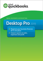 QuickBooks Desktop Pro 2019, 1-User - Message us for the BEST price!