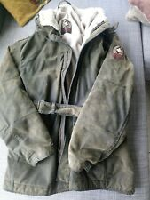 **STRELLSON SWISS CROSS WHITE EAGLE BELTED JACKET RARE LIMITED EDITION***