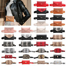 Women Waist Bag Fanny Pack Pouch Sport Belt Hip Chest Crossbody Shoulder Purse