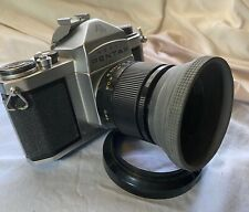 Pentax Asahi S3 35mm Film Camera with Russian 50mm 2.8 Lens Strap Hood Filter