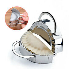New Stainless Steel Dumpling Maker Wraper Dough Cutter Ravioli Dumplings Mould