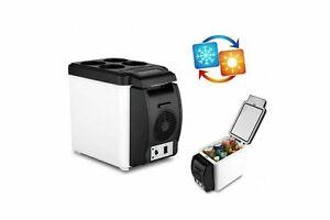 Mini frigo portatile da viaggio viaggi auto camper 6L caldo freddo 12v