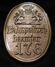 GÖDE Orden Polizeiabzeichen Sammlung Bahnpolizei no.176 HAMBURG 1900