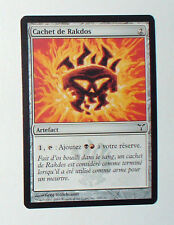 CARTE MTG MAGIC - VERSION FRANCAISE CACHET DE RAKDOS