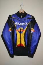RETRO MULTICOLOURED CAMPAGNOLA GIANT GLOBAL RACING CYCLING JACKET MENS SIZE 4