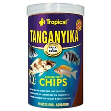 Tropical Tanganyika Chips 1000ml - 520g - 1.5mm Pellet Food