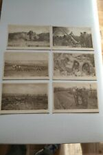 Daily Mail postcard set of 6 WW1 Battle Pictures