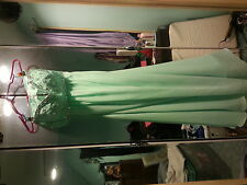 prom dress and heels