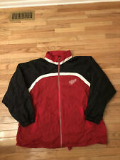 Detroit Red Wings NHL Vintage Starter Men's Lightweight Full Zip Jacket Size 4X