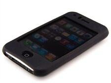 Biegsame und robuste SILIKONHÜLLE für Apple iPhone 3G / 3GS schwarz