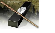 HARRY POTTER RON DAD MR ARTHUR WEASLEY OFFICIAL WAND + BONUS NAME CLIP STAND NEW