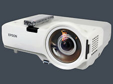 Epson PowerLite 410W H330A LCD Projector Refurbished Short-Throw with remote