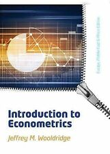 Introduction to Econometrics: EMEA Edition by Jeffrey Wooldridge (Paperback,...