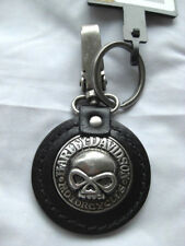 Harley Davidson Skull Totenkopf Schlüsselanhänger Schlüssel Key FOB 99443-06V