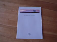 Mercedes Benz E Class Saloons Car Brochure