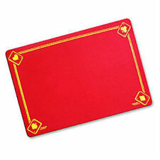 Red Magicians Mat - Printed with Aces - Standard Size - Close Up Pad - New