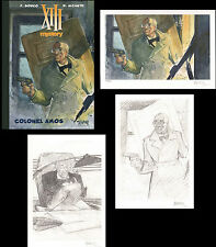 Tirage de Tete BD TREIZE XIII MYSTERY Colonel Amos BOUCQ + 1XL + 2XL exclusifs !