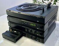 BRAUN Atelier, A1 Verstärker,C1 Tape,T1 Tuner,P1,Turntable,Vintage > Teil-Defekt