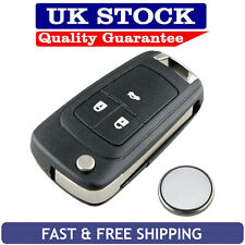 Vauxhall 3 Button Remote Key Fob Case Service Kit Fits Astra Insignia Cascade