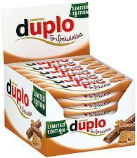 (1000g=17,84€) Ferrero Duplo Spekulatius Limited Edition Schokoriegel 40 Riegel