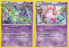 Pokemon Caitlin Complete Deck - Reuniclus - Musharna  - Gothitelle NM - 60 Cards