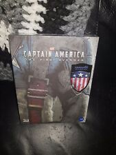 Captain America - The First Avenger 3D+2D BluRay KimchiDvd FullSlip A2 Steelbook