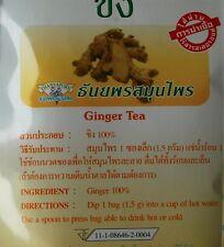 GINGER HERBAL TEA BAGS ORGANIC 100% NATURAL PREMIUM PRODUCT INT POSTAGE