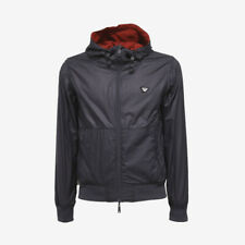 Armani Jeans Reversible Windbreaker Jacket - Navy Blue - WAS £250, NOW £150!