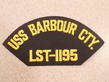 USS bARBOUR CTY. LST-1195 Hat Jacket