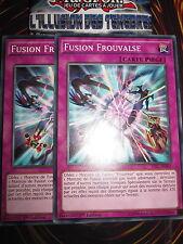 YU-GI-OH! COM FUSION FROUVAISE PLAYSET (LOT DE 2) TDIL-FR069 FRANCAIS EDITION 1