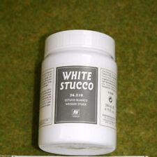 Vallejo Bianco Stucco 200mls Stone Texture Paesaggio Acrilico Medio 26210