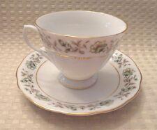 Vtg. Made in China Bone China Tea Cup and Saucer Nanjing Pagoda Mark