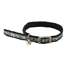 Rogz Cat Collar Sparkle Pin Buckle Sparklecat - Small Neck 10in-12in - Black