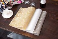 Up to SET 6 x Dining Table Placemat PVC Mat Insulation Tableware 4 x Placemats
