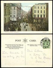 SCOTLAND 1905 PPC GLASGOW ARGYLE STREET BUSY HOWELLS TOBACCO etc