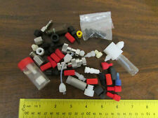 Large Lot Fittings Nuts Adjusters Chemistry Laboratory Fluid Scientific