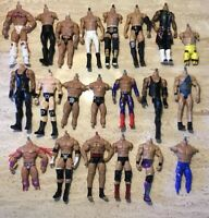 WWE Action Figure Lot W/ Missing Parts
