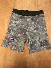 USA WRESTLING Nike Dri-Fit Fight Training SHORTS Size M Digital Camo