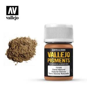 Vallejo Pigments 73.105 Natural Sienna 30ml